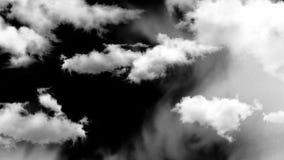 Wb de las nubes 003 almacen de metraje de vídeo