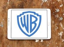 Wb, logotipo de Warner Brothers Imagen de archivo libre de regalías