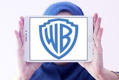 Wb, logotipo de Warner Brothers Foto de archivo libre de regalías