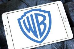 Wb, logotipo de Warner Brothers Fotos de archivo libres de regalías
