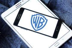 WB, warner λογότυπο αδελφών Στοκ εικόνα με δικαίωμα ελεύθερης χρήσης