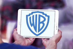 WB, warner λογότυπο αδελφών Στοκ Εικόνες