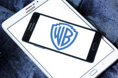 Wb, warner brothers logo Royalty Free Stock Image