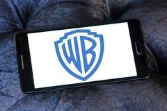 Wb, warner brothers logo Stock Photo
