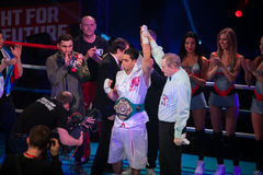 WBC EPBC boxing championship in Moscow Royalty Free Stock Photo