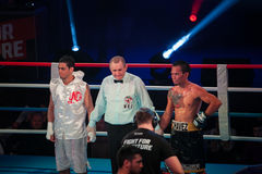 WBC EPBC boxing championship in Moscow Royalty Free Stock Images