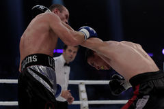 WBO boxing competition Stock Photography