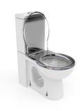 WC σμάλτων Στοκ φωτογραφία με δικαίωμα ελεύθερης χρήσης