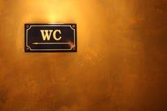 wc знака стоковые фото