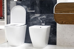 wc туалета Стоковое фото RF