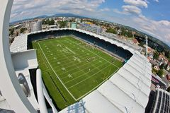 WC 2011 del balompié: Arena Graz del UPC Imágenes de archivo libres de regalías