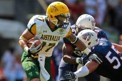 WC 2011 di gioco del calcio: Gli S.U.A. contro l'Australia Immagine Stock Libera da Diritti