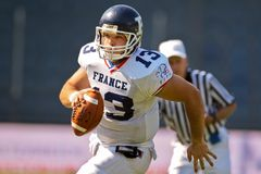 WC 2011 di gioco del calcio: Il Giappone contro la Francia Fotografia Stock