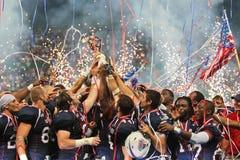 WC 2011 van de voetbal: De V.S. versus Canada Royalty-vrije Stock Fotografie