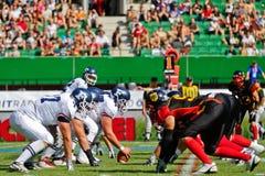 WC 2011 van de voetbal: Duitsland versus Frankrijk Stock Fotografie