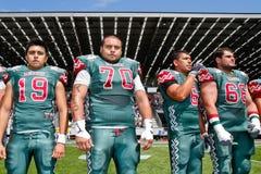 WC 2011 van de voetbal: Mexico versus Australië Royalty-vrije Stock Foto's