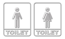 wc royaltyfri illustrationer