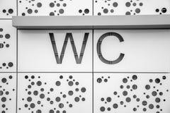 WC Fotografía de archivo