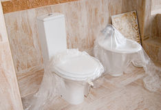 WC and bidet Royalty Free Stock Image