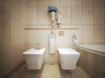 WC classico di stile Fotografia Stock Libera da Diritti