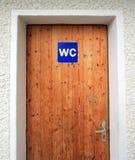 WC Door Stock Photos
