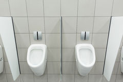 WC für Männer stockbild