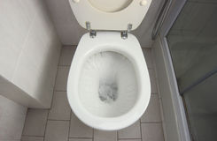 WC Flush Stock Image