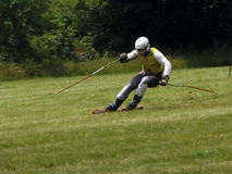 WC grass skiing - Cenkovice Royalty Free Stock Photography