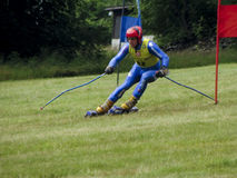 WC grass skiing - Cenkovice Royalty Free Stock Photos