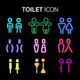 WC icon stock images