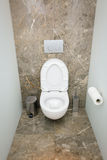 WC-Innenraum - Archivbild Lizenzfreies Stockbild