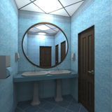 WC interior Stock Photos