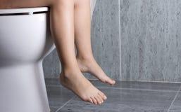 WC-Mädchen Stockbilder