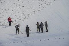 WC narciarski latający Vikersund 14 2015 Luty (Norwegia) Zdjęcia Royalty Free