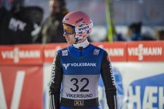 WC narciarski latający Vikersund 14 2015 Luty (Norwegia) (od 2nd połówki Obraz Royalty Free