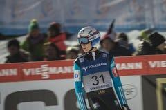 WC narciarski latający Vikersund 14 2015 Luty (Norwegia) (od 2nd połówki Zdjęcie Stock