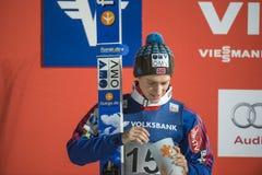 WC narciarski latający Vikersund 14 2015 Luty (Norwegia) (od 2nd połówki Zdjęcia Stock