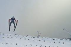 WC narciarski latający Vikersund 14 2015 Luty (Norwegia) Obrazy Royalty Free