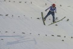 WC narciarski latający Vikersund 14 2015 Luty (Norwegia) Fotografia Stock