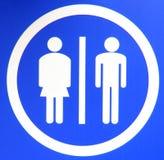 WC sign Stock Photos
