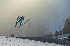 WC ski flying Vikersund (Norway) 14 February 2015 Royalty Free Stock Images