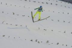 WC ski flying Vikersund (Norway) 14 February 2015 Royalty Free Stock Photo