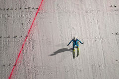 WC ski flying Vikersund (Norway) 14 February 2015 (from 2nd half Stock Images