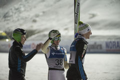 WC ski flying Vikersund (Norway) 14 February 2015 (from 2nd half Stock Photo