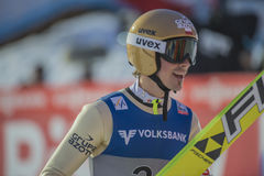 WC ski flying Vikersund (Norway) 14 February 2015 (from 2nd half Stock Photos