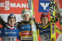 WC ski flying Vikersund (Norway) 14 February 2015 (from 2nd half Royalty Free Stock Photo