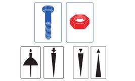 WC-teken Stock Afbeelding