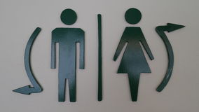WC toilet sign Royalty Free Stock Photography