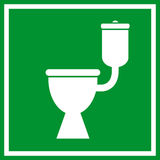 Wc toilet sign Stock Photography