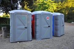 WC van Ecologic royalty-vrije stock afbeeldingen